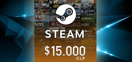 Steam Wallet $15.000 CLP